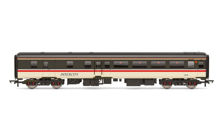Hornby 00 Gauge BR Intercity, Mk2F Brake Second Open, 9525 - Era 8 R4921A