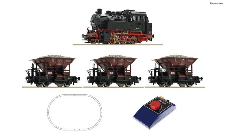 Roco HO Gauge DB BR80 Steam Freight Starter Set III RC51159