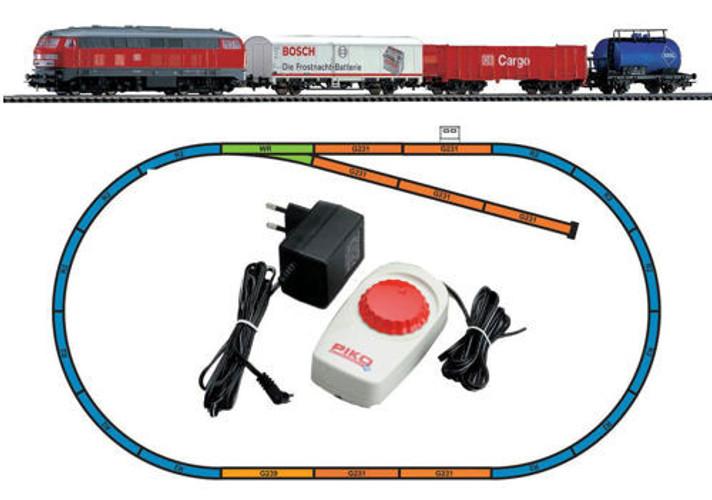 Piko HO Gauge Hobby DB BR218 Freight Passenger Starter Set