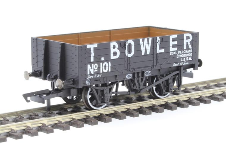 Oxford Rail OO Gauge 5 Plank Wagon T Bowler London 101 OR76MW5001