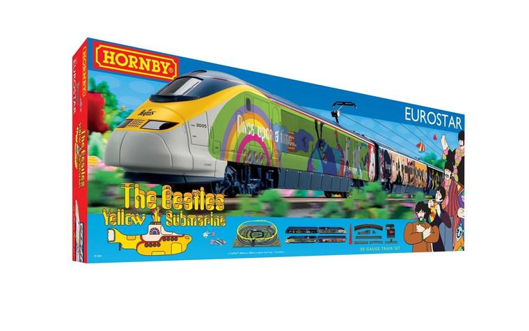 Hornby OO Gauge Eurostar 'Yellow Submarine' Train Set R1253M