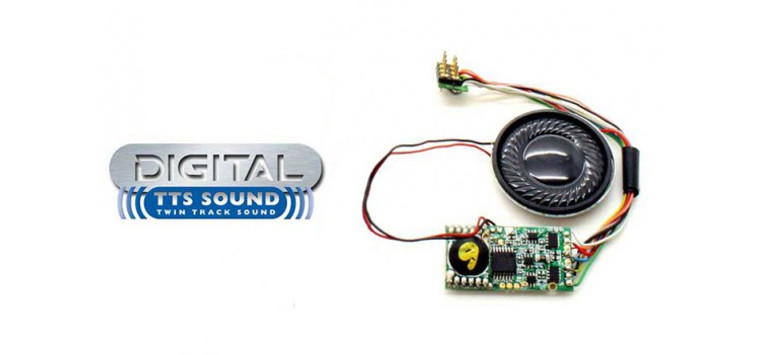 Hornby OO Gauge DCC Power and Control TTS Sound Decoder: Class 47