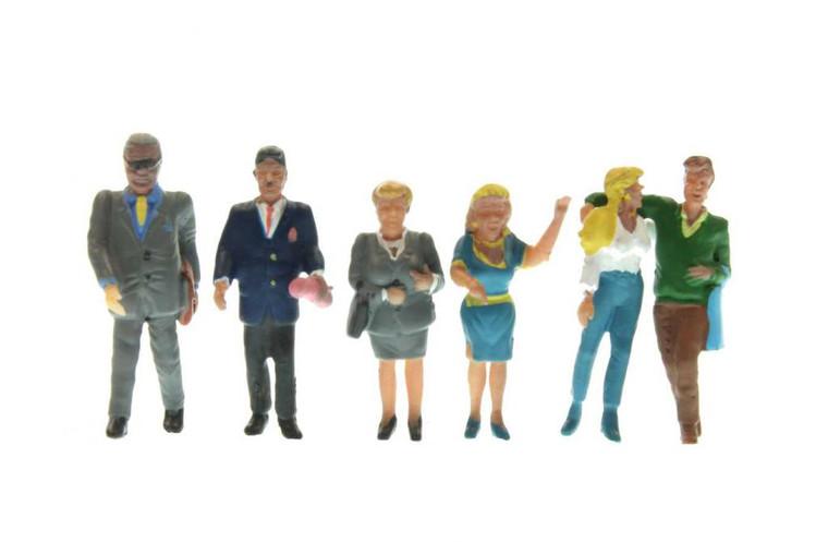 Noch HO Gauge Pedestrians (6) Figure Set N15520