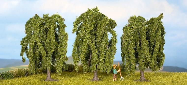 Noch HO Gauge Weeping Willow (3) Classic Trees 8cm N25130