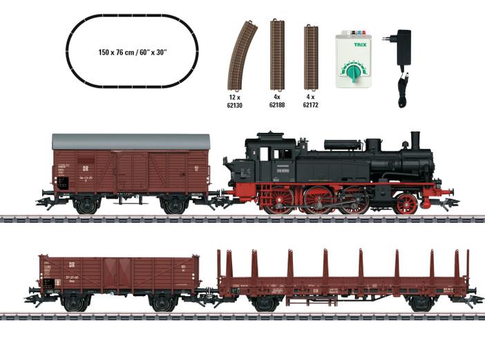 Trix HO Gauge DB BR74 Freight Starter Set III 21530