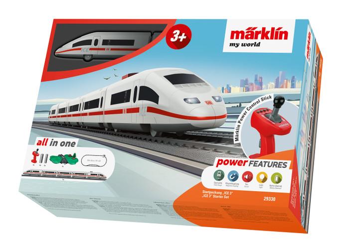 Marklin HO Gauge MyWorld German ICE3 Starter Set 29330