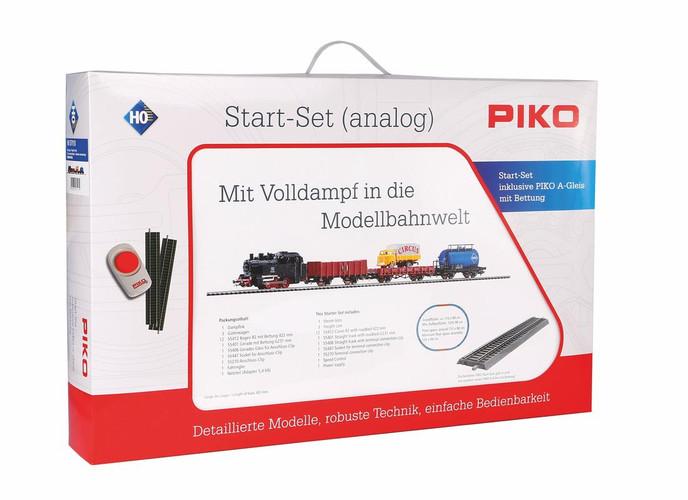 Piko HO Gauge Hobby DB Steam Freight Analogue Starter Set 57113