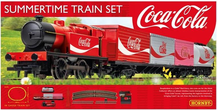 Hornby OO Gauge Coca-Cola Summertime Train Set R1276M