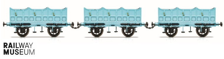 Hornby OO Gauge Coach L&MR, Open Carriage Pack - Era 1 R40102