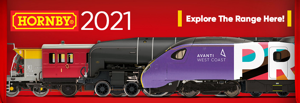 Hornby 2021 Releases at Railway Model Store