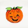Vintage Die-Cut   Orange Pumpkin