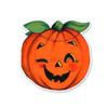 Vintage Die-Cut | Orange Pumpkin