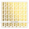 Metallic Clear   Pinapple Crush   Gold 8x8