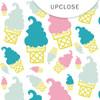 Clear | Ice Cream 8x8