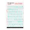 Stickers | Trendy ABC | Aqua