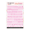 Stickers | Trendy ABC | Magenta