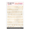 Stickers | Trendy ABC | Gold Clear