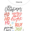 Stickers | Holly Jolly | Clear