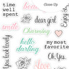 Die-cut | Charming Words