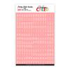 Stickers | Mini ABC | Pink Cherry