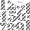Die-Cuts   Nutcracker Numbers   Gingham