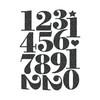Die-Cut   Sprinkles Numbers