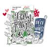 Die-Cuts | Holly Jolly Words