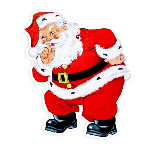 Vintage Die-Cut | Santa #17