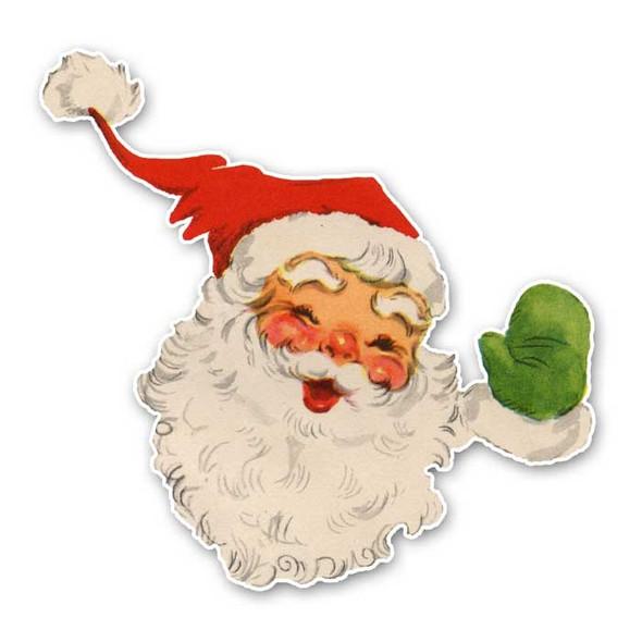 Vintage Die-Cut | Santa #12