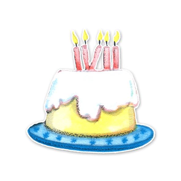 Vintage Die-Cut | Chiffon Cake