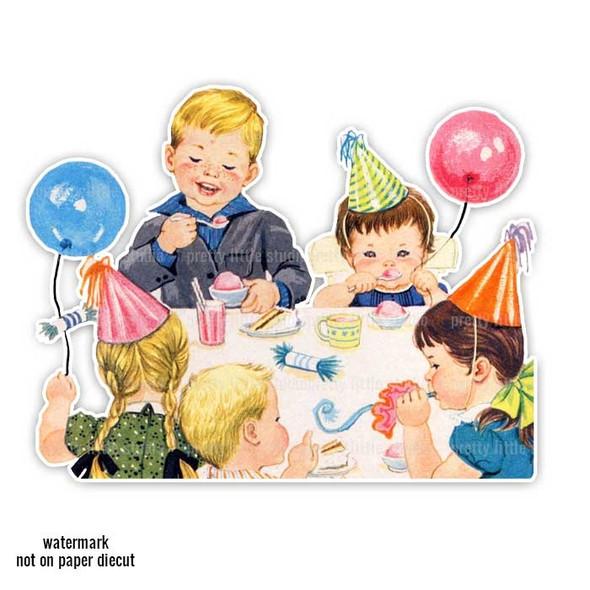 Vintage Die-Cut | Birthday Party