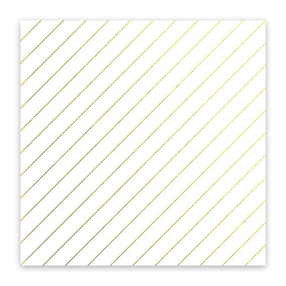 Metallic Clear | Crisp Air | Gold