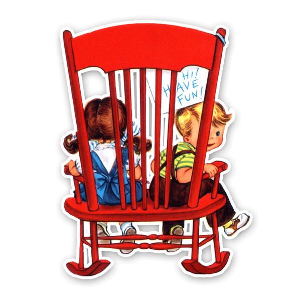 Vintage Die-Cut | Rocking Chair 2