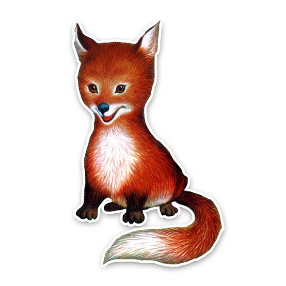 Vintage Die-Cut | Fritz the Fox