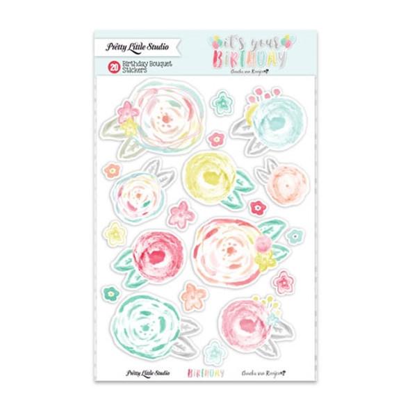 Stickers   Birthday Bouquet
