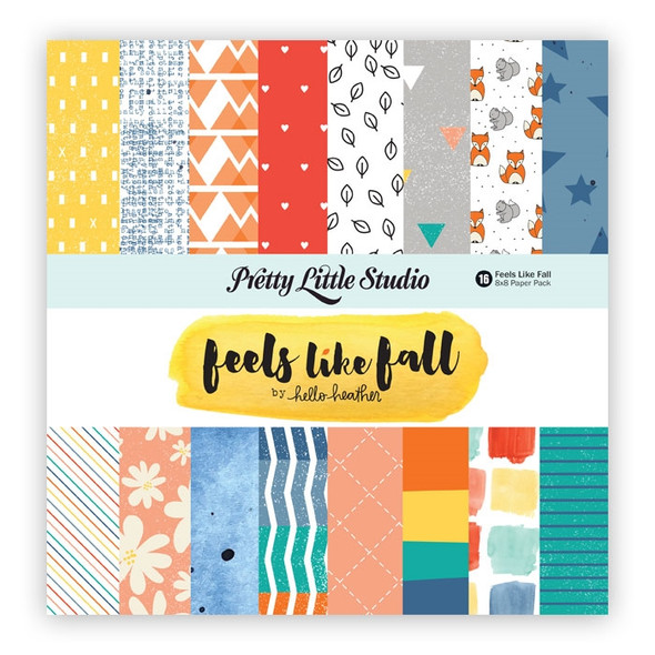 Paper Pack | Feels Like Fall 8x8