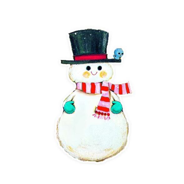 Vintage Die-Cut | Snowman #9