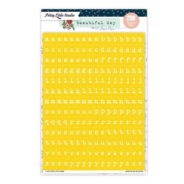 Stickers | Mini ABC | Sunny Day