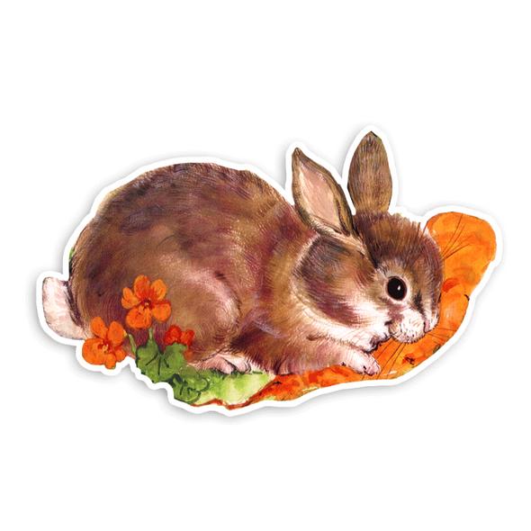 Vintage Die-Cut | Roxy the Rabbit