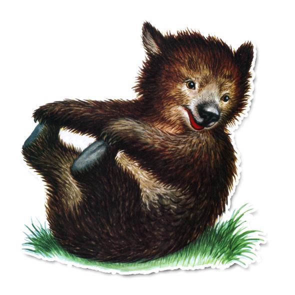 Vintage Die-Cut | Bert the Bear