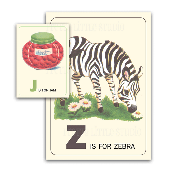 Flash Cards | Z is for Zebra