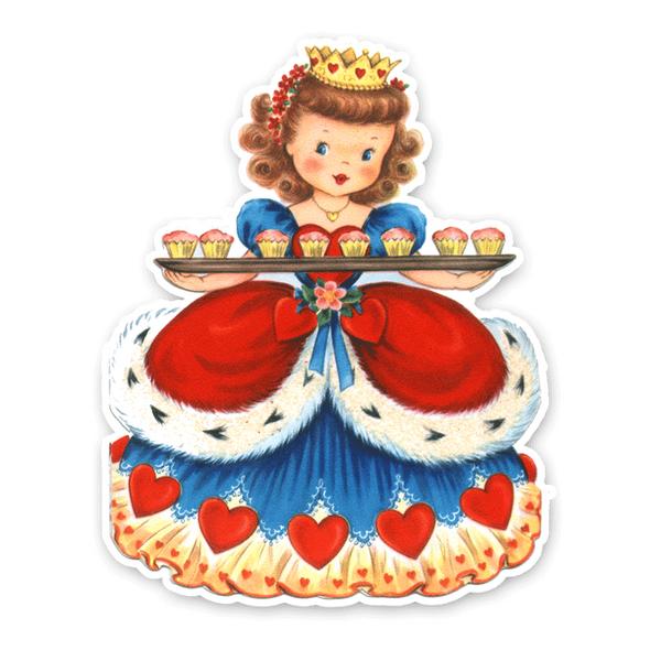 Vintage Die-Cut | Queen of Hearts