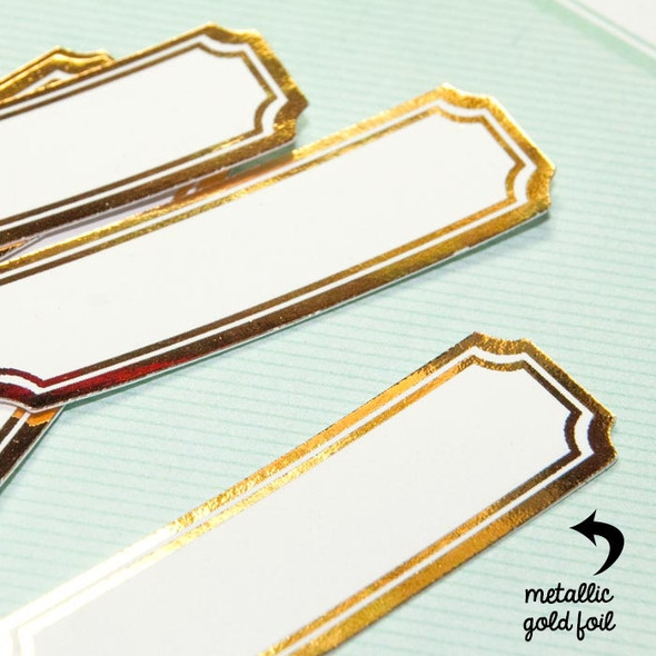 Die-Cuts | Gold Labels
