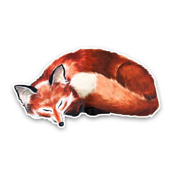 Vintage Die-Cut | Sleeping Fox