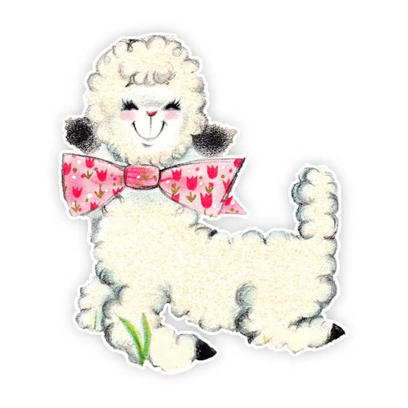 Vintage Die-Cut | Dolly Lamb