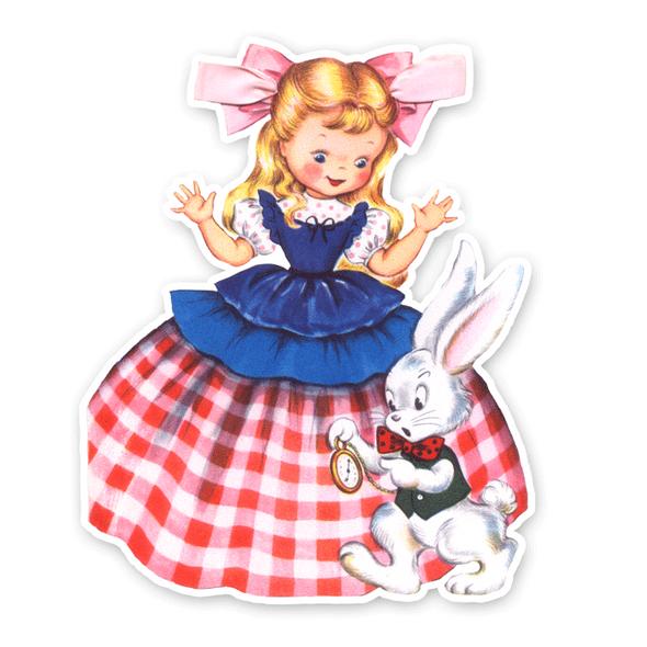 Vintage Die-Cut | Alice