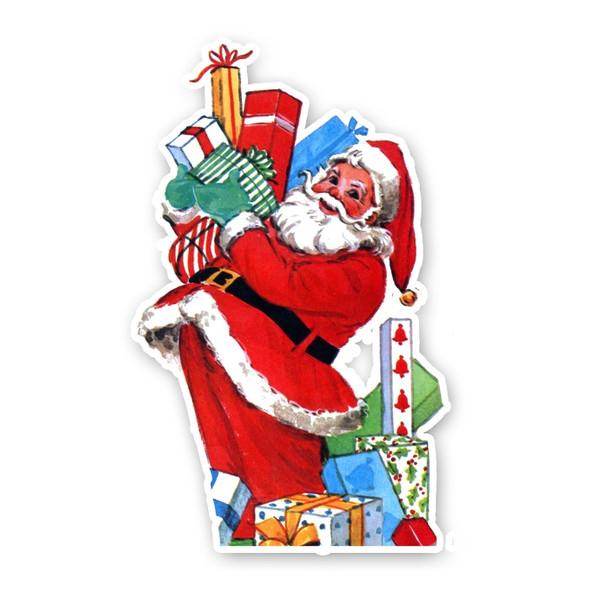Vintage Die-Cut | Santa #4