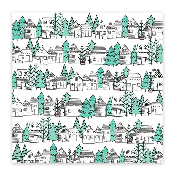 Vellum | Christmas Town #3 | 8x8