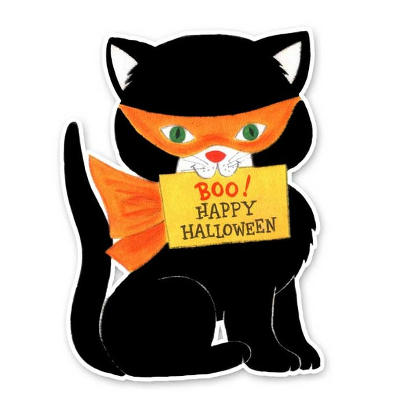 Vintage Die-Cut | Boo the Cat