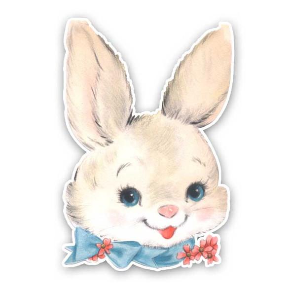 Vintage Die-cut | Gabby Bunny